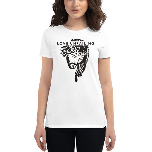 Love Unfailing Women's short sleeve t-shirt