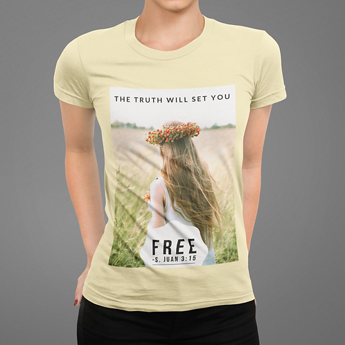 The Truth Will Set You Free Short-Sleeve Unisex T-Shirt