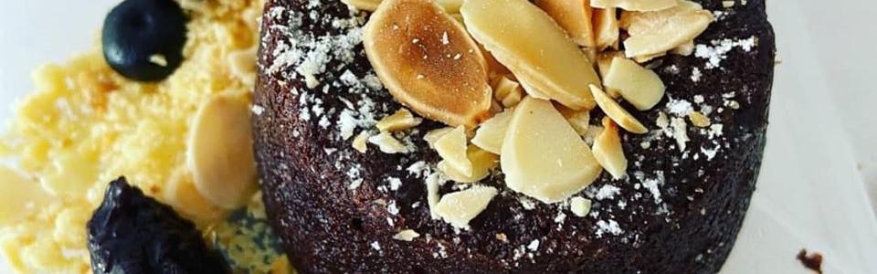 Valrhona Dark Chocolate Cake $10