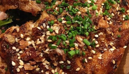 Pan Roasted Iberico Pork Ribeye $24