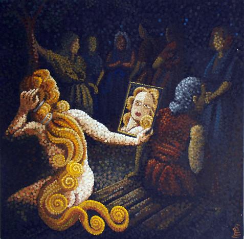 Venus and the women 40x40.jpg