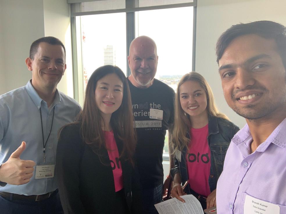 Loro presents at BNT's HealthTech Startup Showcase