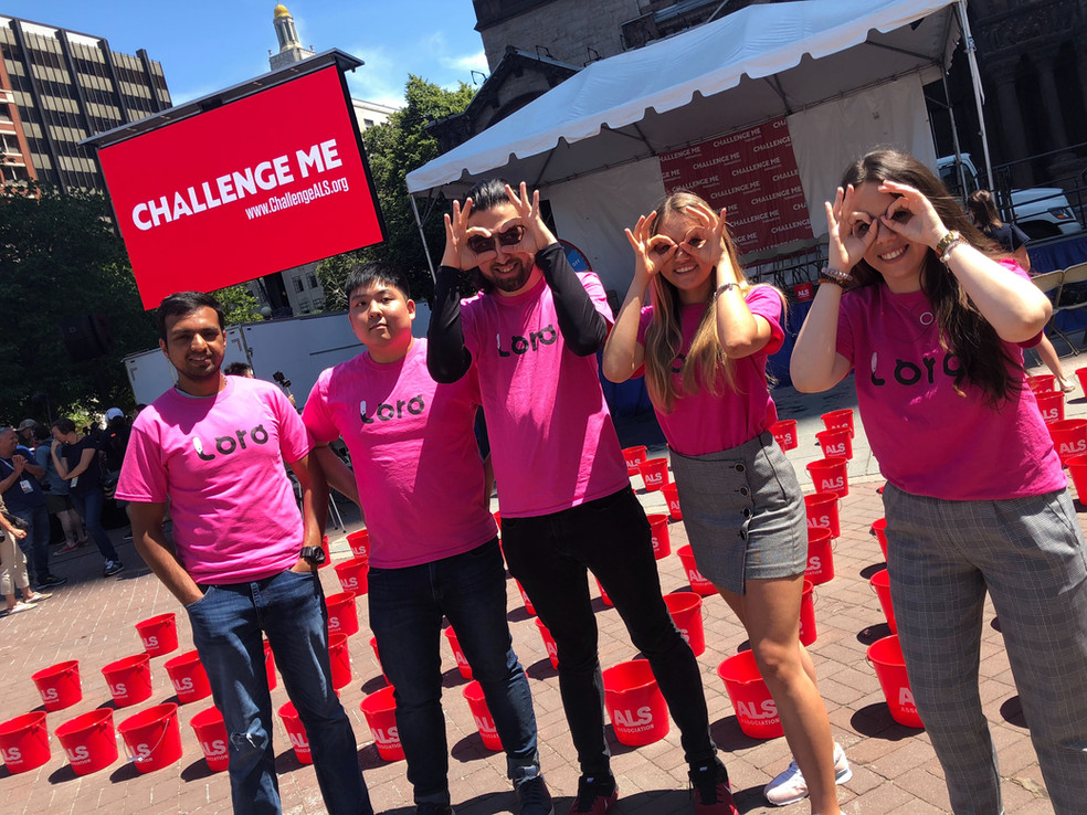 Loro Unites in Celebration of the 5th Anniversary of the Ice Bucket Challenge
