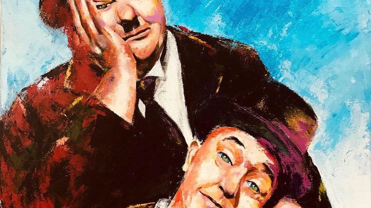 """""""Laurel & Hardy"""". ( el gordo y el flaco. Serie cómicos clásicos)"""