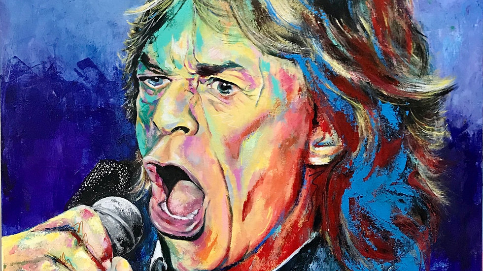 MICK JAGGER (Rolling Stone)