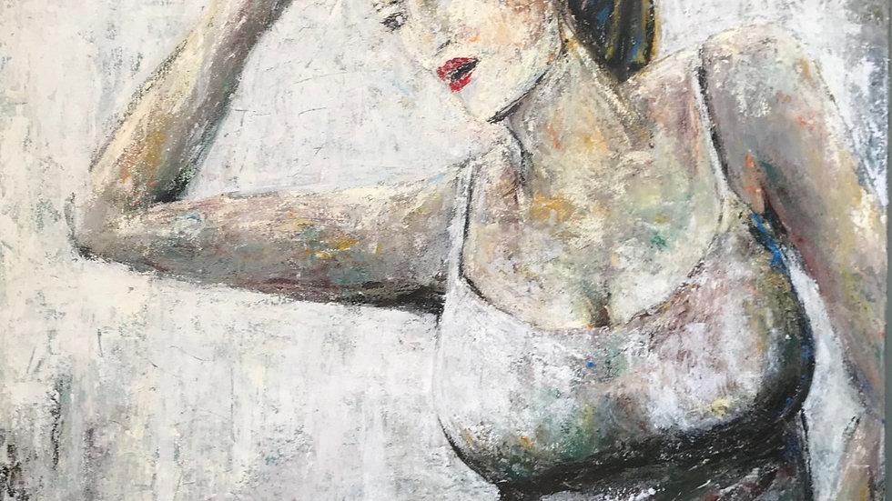 Mujer en camisón