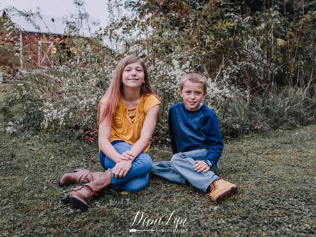 Woodard Family | Fall 2018
