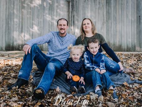 Robinson Family | Fall 2018