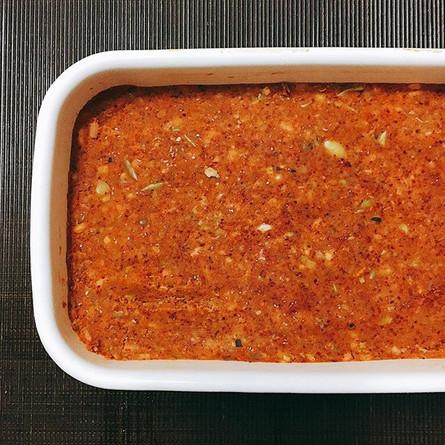豆板醤作り。