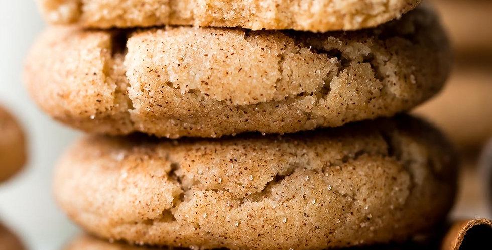 Snickerdoodle Butter Pecan Cookies