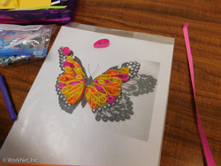 WCCC quilled butterfly class
