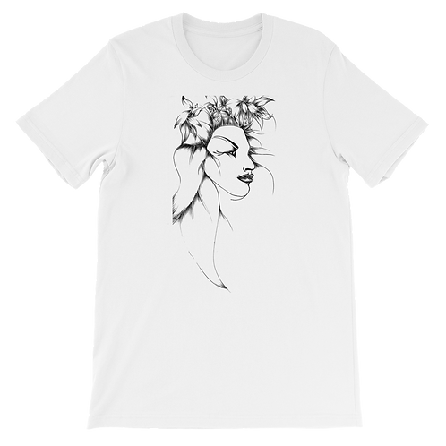 White Wearable Art T-Shirt