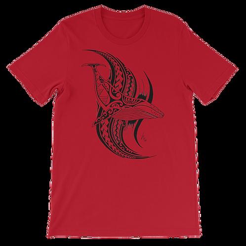 Unisex Style; T-Shirt; Wearable Art; Art T-Shirt; Tribal Whale