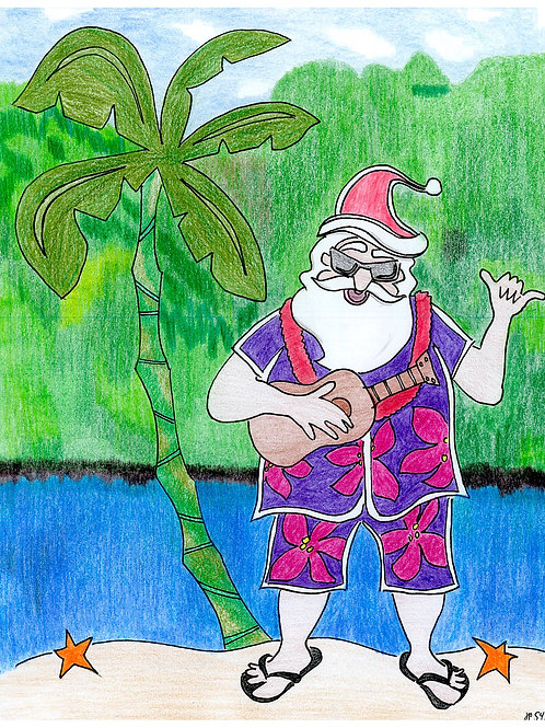 Ukelele Santa