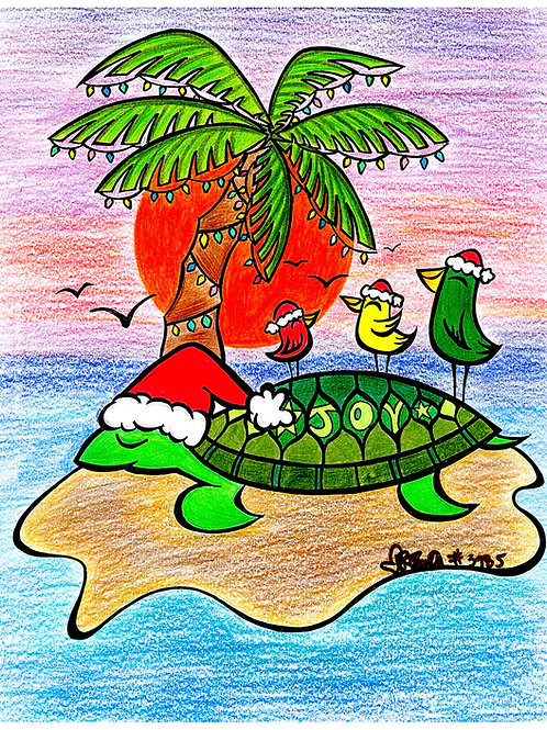 Christmas Honu