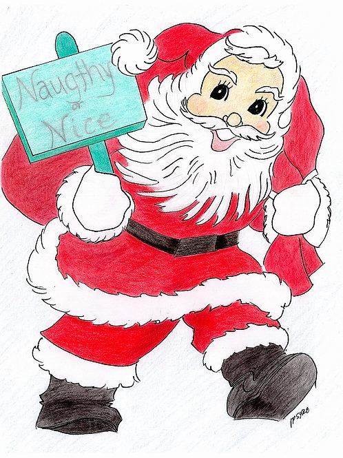Naughty and Nice Santa