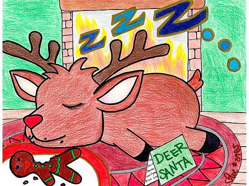 Sleeping Reindeer