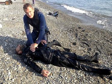 rescue diver Сочи