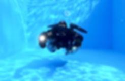 Trimix sidemount diver