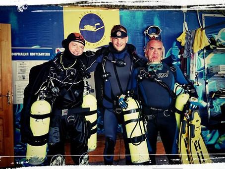 Продолжаем обучение по курсу Advanced EANx diver в конфигурации сайдмаунт