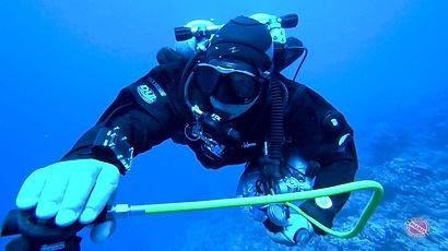Trimix diver IANTD