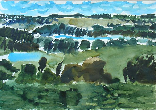 Na_Suwalszczyźnie,2007,akwarela,papier,3