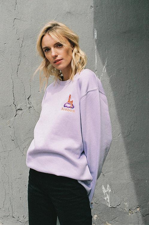 'Purple cloud' sweatshirt