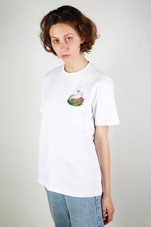 'Women in a can' t-shirt