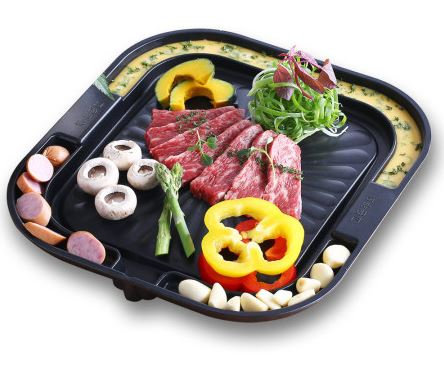 BBQ partition grill (square)