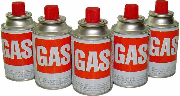 BUTANE GAS CARTRIDGE 120G NOZZLE TYPE