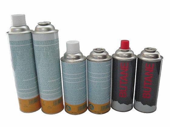Butane gas cartridge screw type 220 330