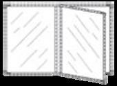 Portamenú Contemporary 1 Panel