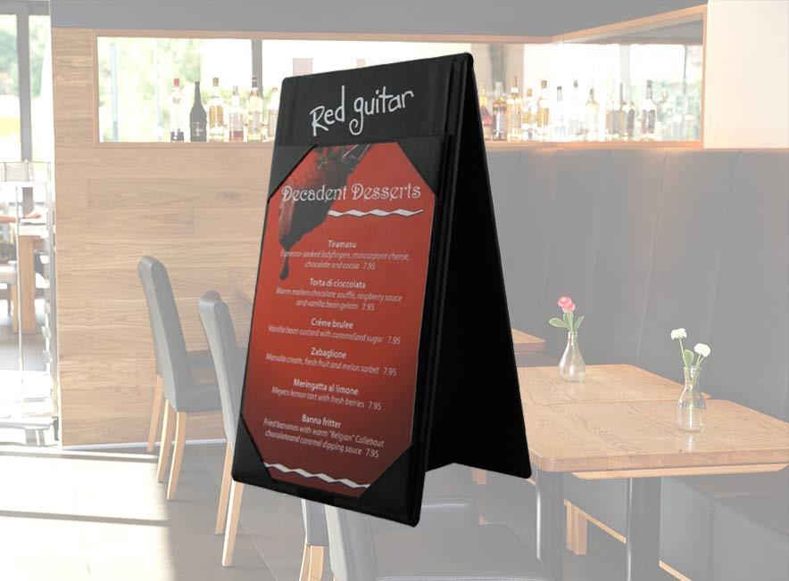 Exhibidor de Mesa para Restaurante