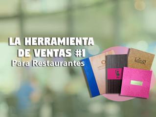 La Herramienta de Ventas #1 para Restaurantes