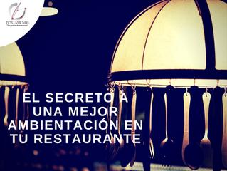 El secreto a una mejor ambientación en tu restaurante: Colección LED.