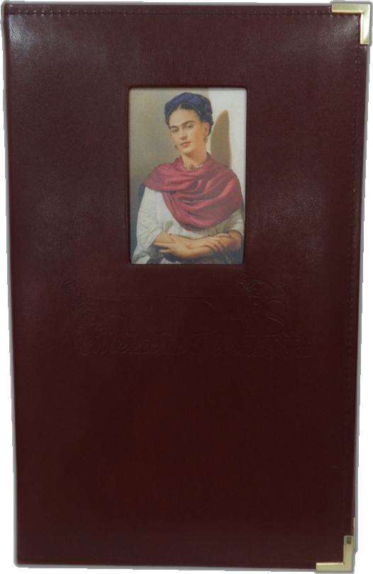 Portamenú Contemporary - Frida Kahlo