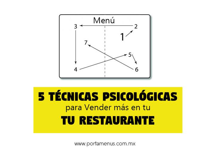 5 Técnicas Psicológicas para Vender más en tu Restaurante