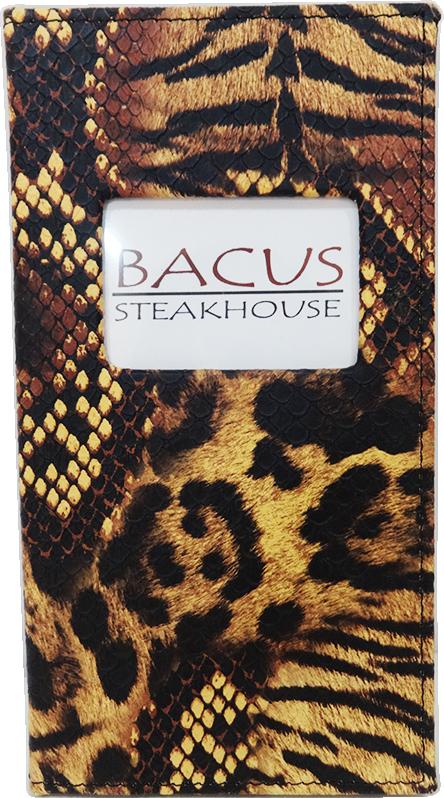 Porta cuentas - Bacus Frente