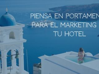 Piensa en Portamenús para el marketing de tu hotel.