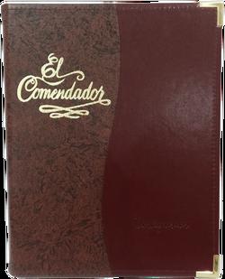Portamenú Contemporary - Comendador