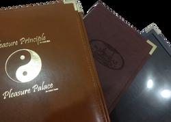 Portamenú Vintage - Trio