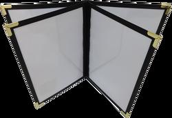 Portamenú CDS - Negro Interior