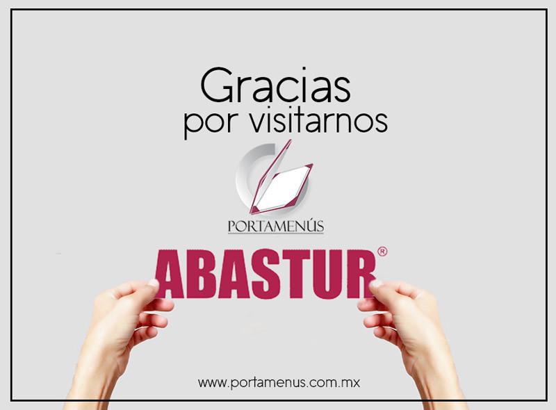 Portamenus en el Abastur 2016