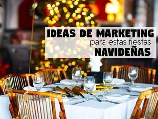 Ideas de Marketing para tu Restaurante esta Navidad