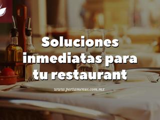 Soluciones para el branding de tu restaurant.
