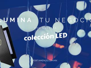 El secreto a una mejor ambientación en tu restaurante: nuestra Colección LED.