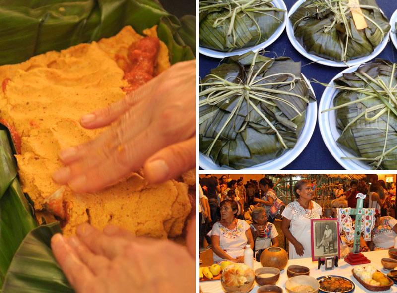 Portamenús Pib y Mucbipollo Yucatán