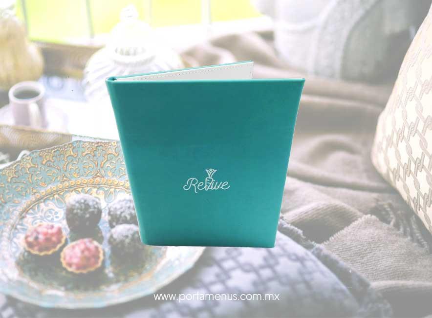 Porta menú para cafetería y restaurante México