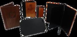 Portamenús - Diseños en Madera
