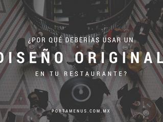 3 motivos por los que es importante utilizar diseños originales en tu restaurante